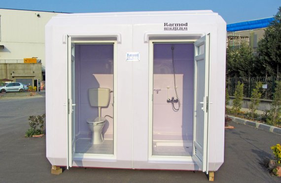 150x270 prenosná toaleta a sprchová kabína