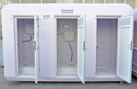 150x390 prenosná toaleta a sprchová kabína
