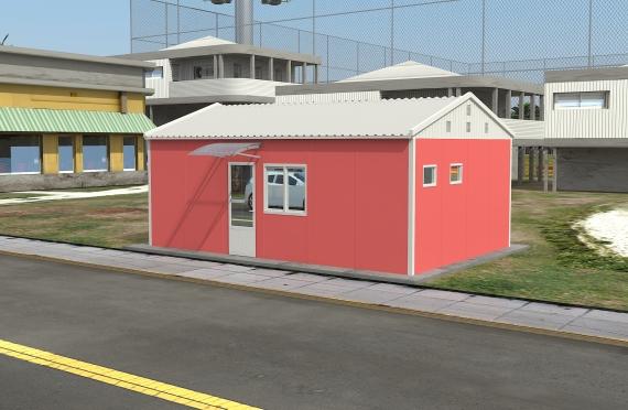 Modulárna kancelárska budova 40 m²