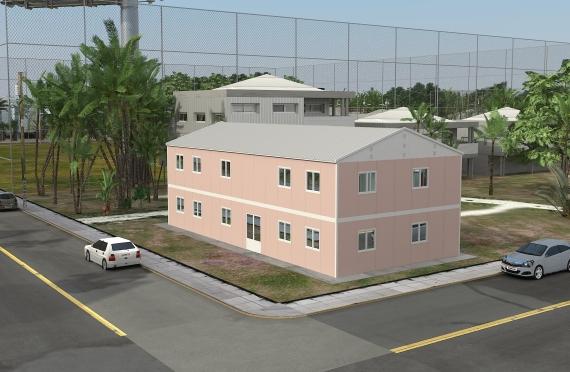 Modulárna kancelárska budova 340 m²