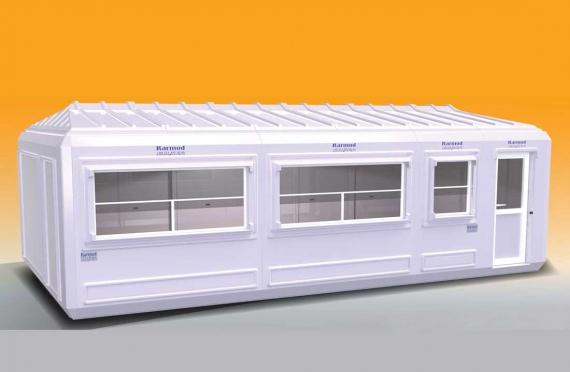 Prenosná budova 390x750