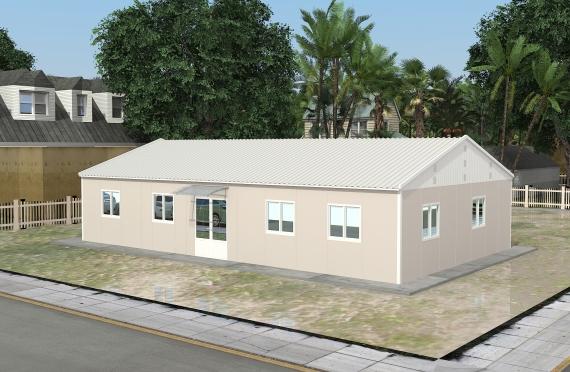 Modulárna kancelárska stavba 136 m²