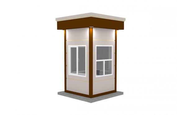 Moderná prefabrikovaá kabína 150x150