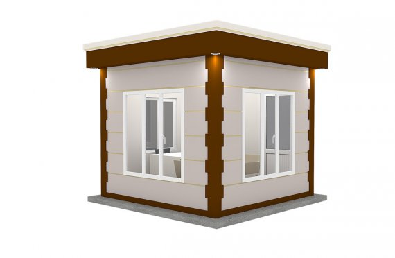 Moderná prefabrikovaná kabína 300x300