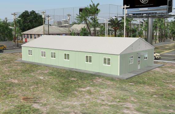 Modulárna kancelárska budova 246 m²