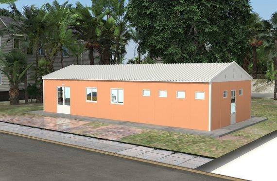 Modulárna jednáleň 98 m²