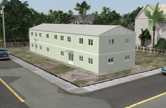 Modulárna kancelárska budova 463 m²