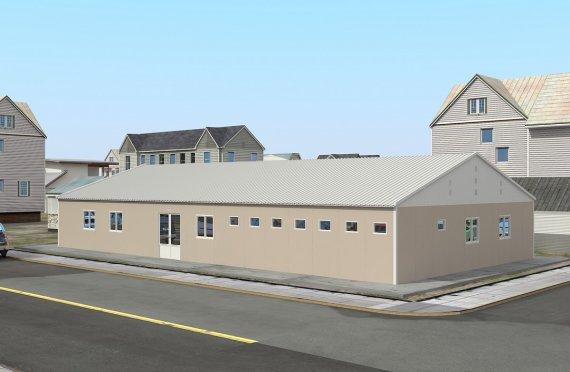 Modulárna nemocnica 275 m²