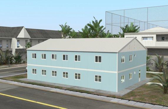 Modulárna nemocnica 506 m²