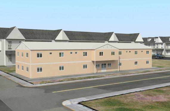Modulárne sociálne zariadenie 793 m²