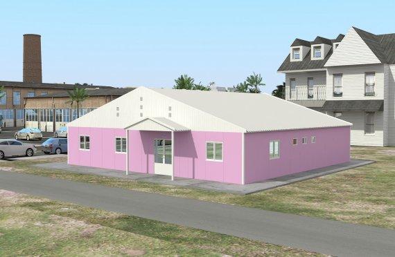 Modulárne laboratórium 222 m²