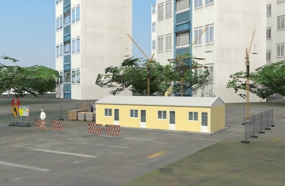Modulárna ubytovacia jednotka 79 m²