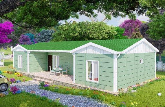 Montované Domy 102 m2