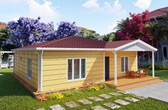 Montované Domy 103 m2