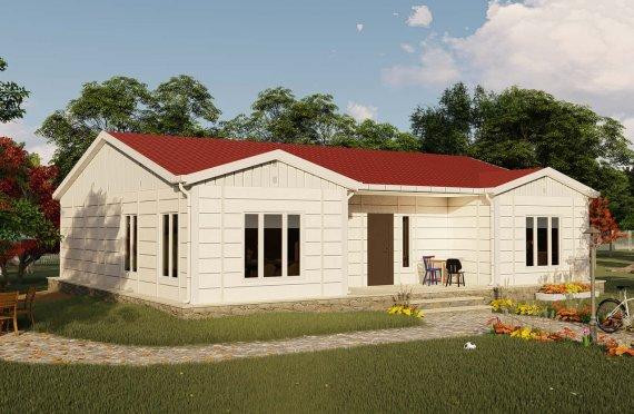 Montované Domy 123 m2