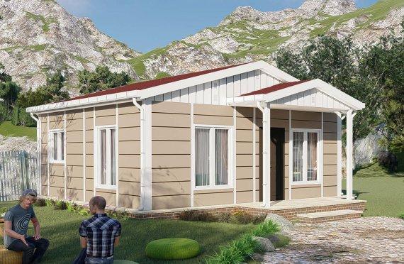 Montované Domy 45 m2