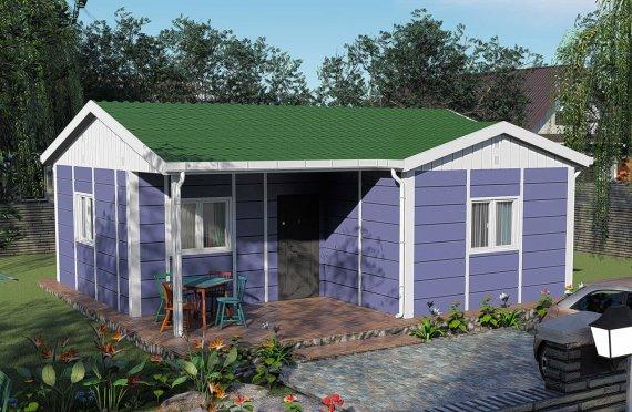 Montované Domy 51 m2