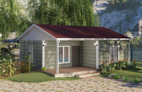 Montované Domy 73 m2