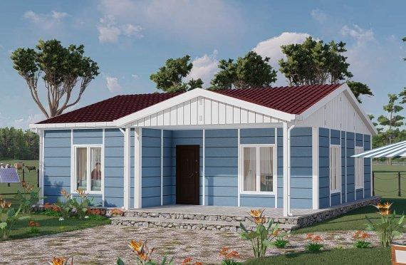 Montované Domy 82 m2