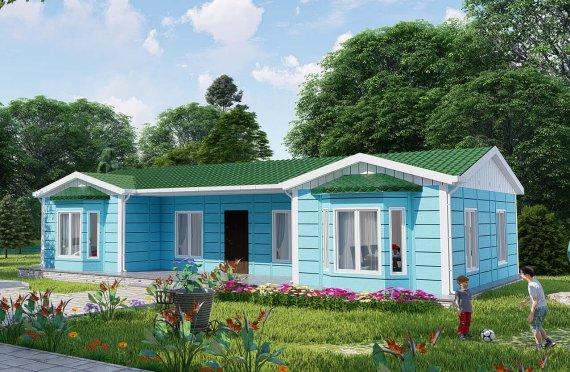 Montované Domy 97 m2