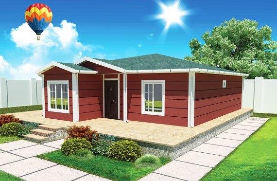 Montovaný dom 96 m²