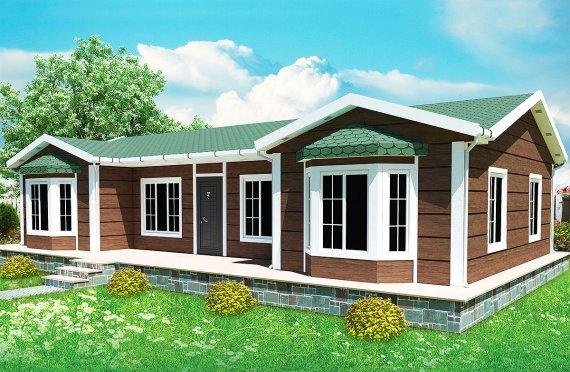 Montované modulárne domy 97 m²
