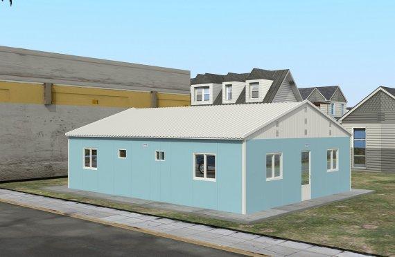 Modulárna ubytovacia jednotka 102 m²