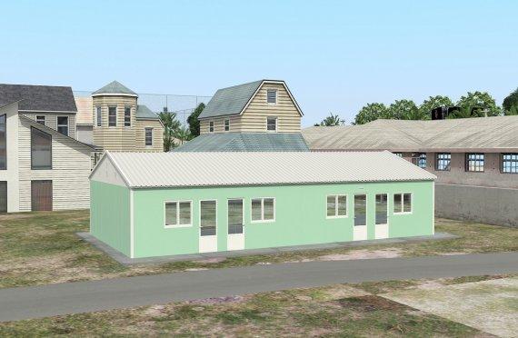 Modulárna ubytovacia jednotka 117 m²