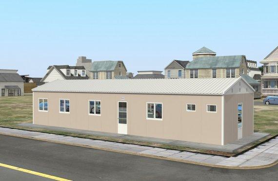 Modulárna ubytovacia jednotka 86 m²