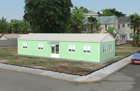 Modulárna kancelárska stavba 106 m²