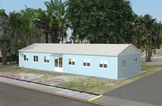 Modulárna kancelárska stavba 146 m²