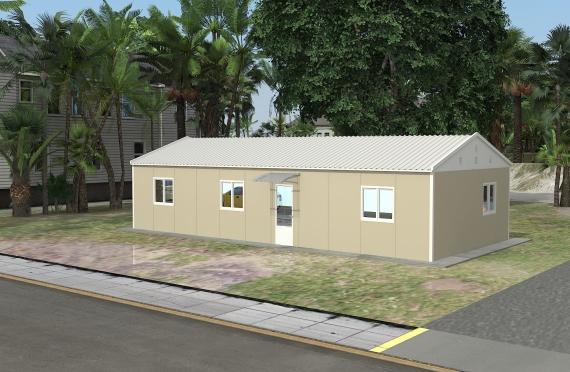 Modulárna kancelárska budova  90 m²