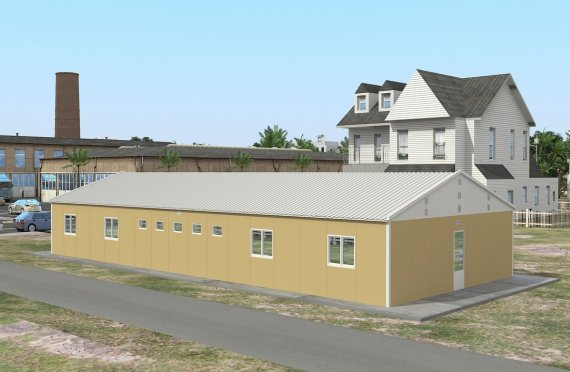 Modulárna ubytovacia jednotka 139 m²