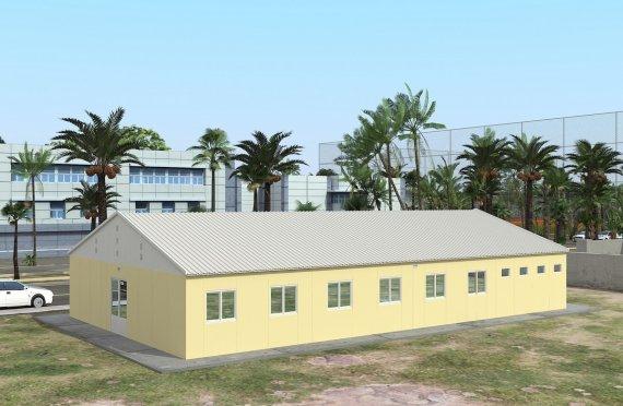 Modulárna ubytovacia jednotka 232 m²
