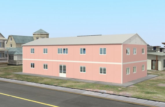 Prenosná trieda 480 m²