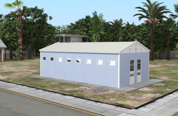 Prefabrikovaná toaleta a sprcha 52 M²
