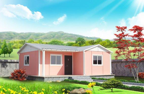 Prefabrikovaný dom 49 m²