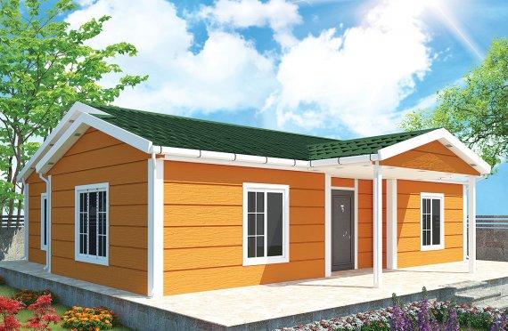 Prefabrikovaný dom 102 m²