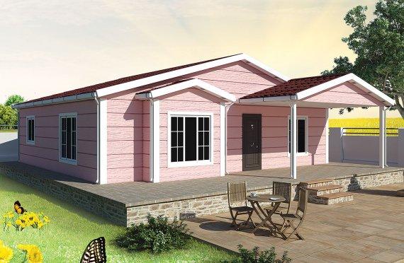Prefabrikovaný dom 105 m²