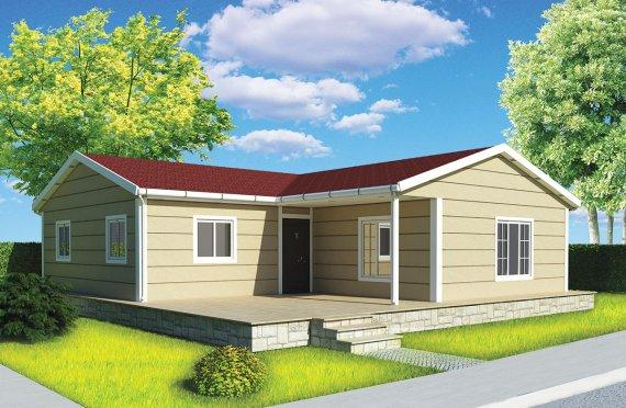 Prefabrikovaný dom 107 m²