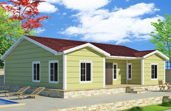 Prefabrikovaný dom 126 m²