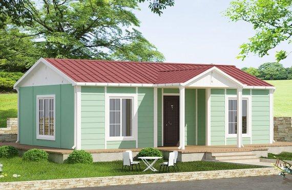 Prefabrikovaný dom 51 m²