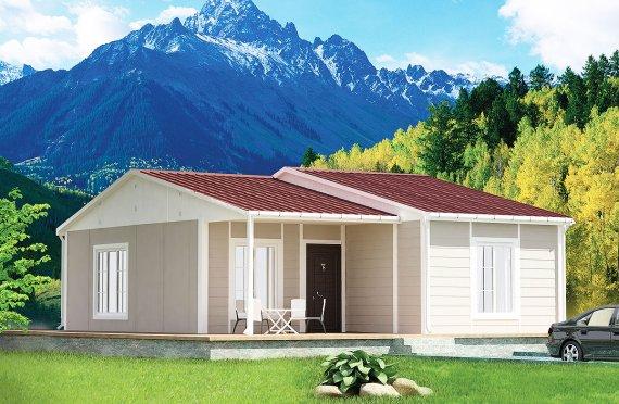 Prefabrikovaný dom 61 m²
