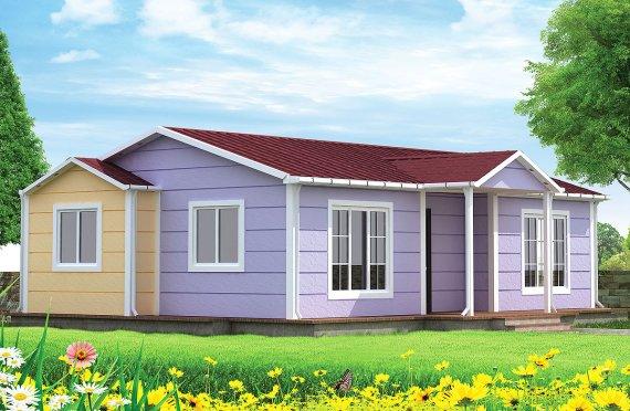 Prefabrikovaný dom 71 m²