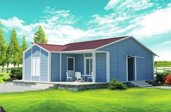 Prefabrikovaný dom 73 m²