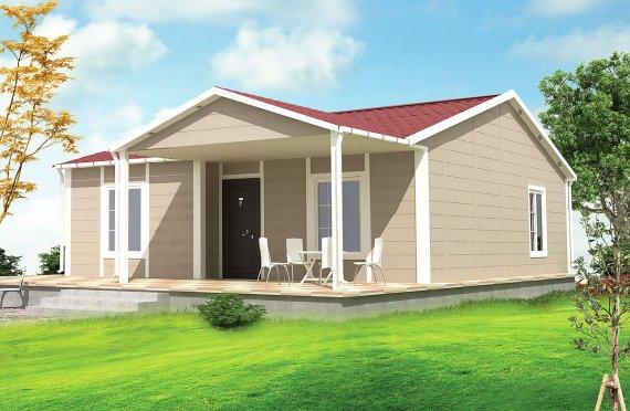 Prefabrikovaný dom 75 m²