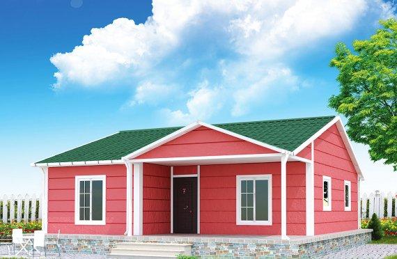 Prefabrikovaný dom 82 m²