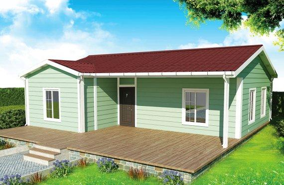 Prefabrikovaný dom 86 m²