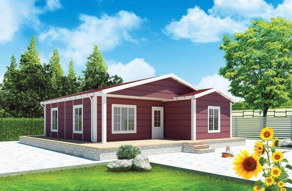 Prefabrikovaný dom 88 m²