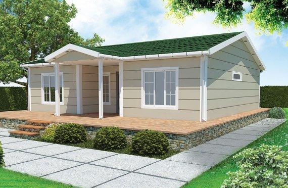Prefabrikovaný dom 94 m²